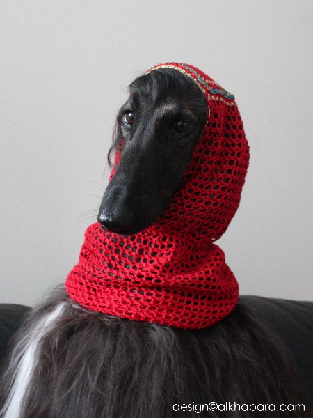 how to make a snood for your dog