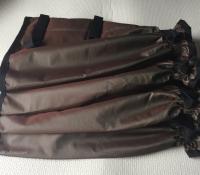 Khaki Leggings 3 velcro Light Nylon 35 cms