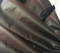 Khaki nylon